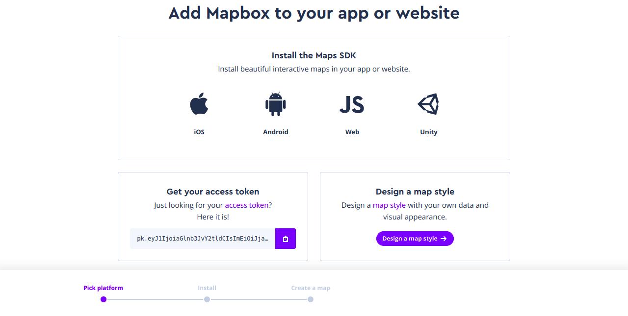 Utilizando mapas no React Native com Mapbox