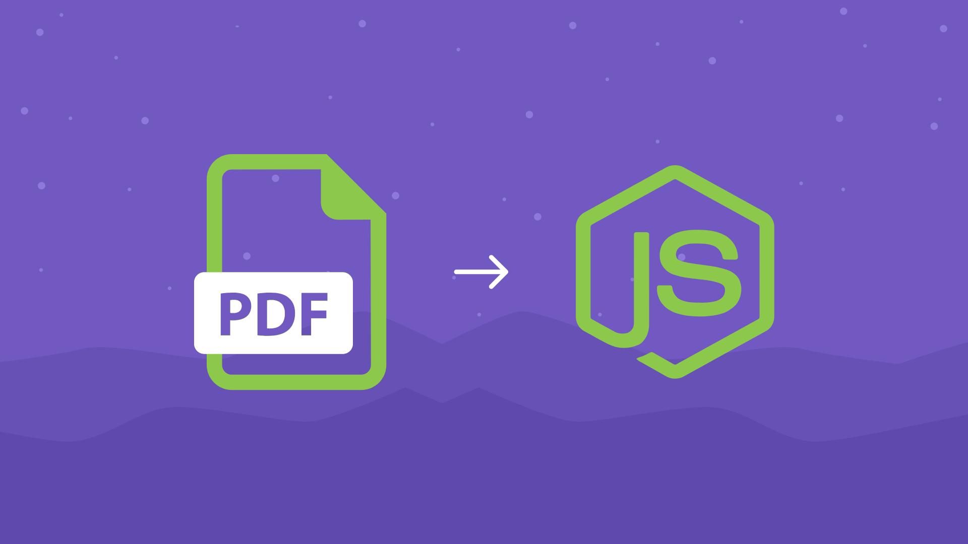 Avaliando estratégias de construção de PDF em NodeJS